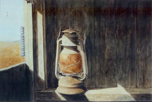 West Window 18 x 24 Watercolor on board © Debra Argosy
